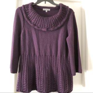 Classiques Entier Merino Wool Cowl Neck Sweater XL